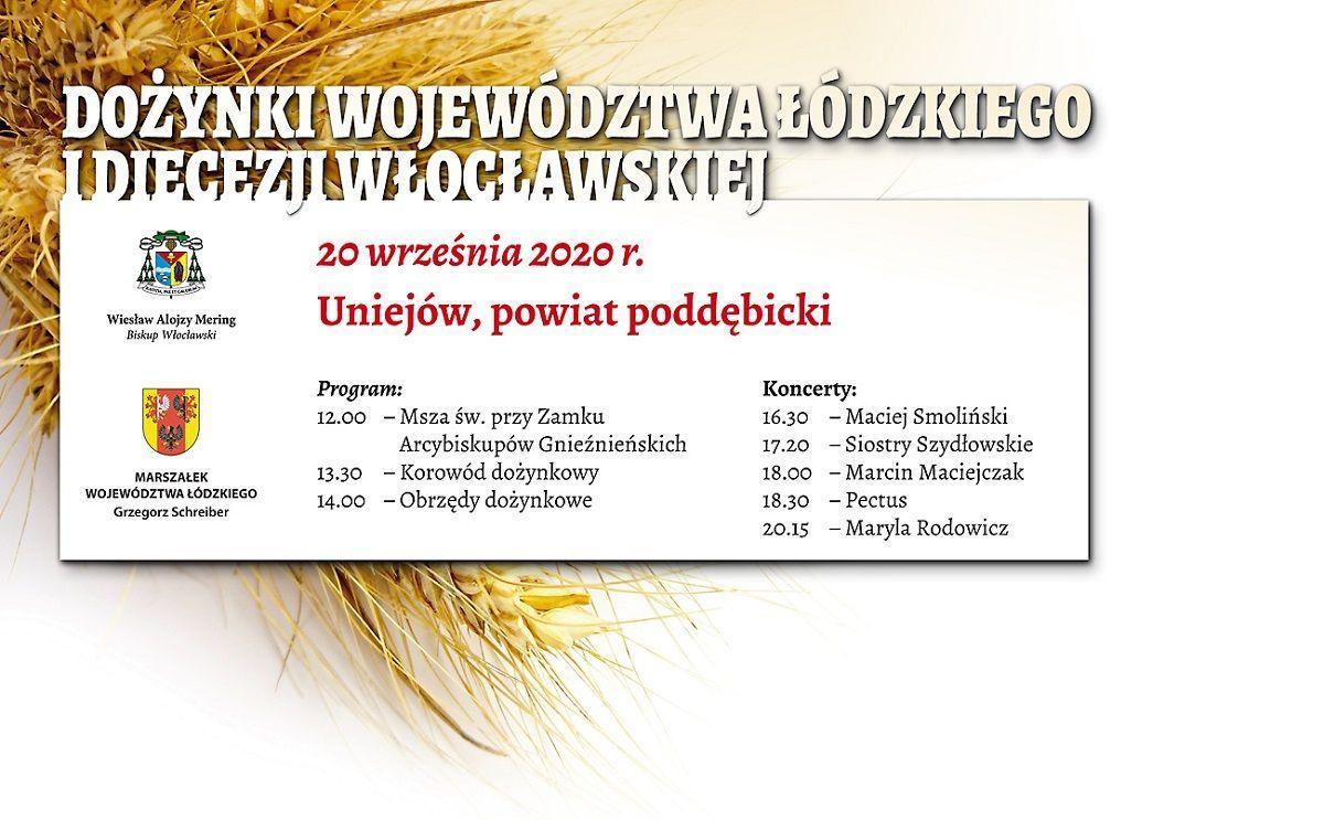 Wojewódzko-Diecezjalne Dożynki w Uniejowie (zapowiedź)