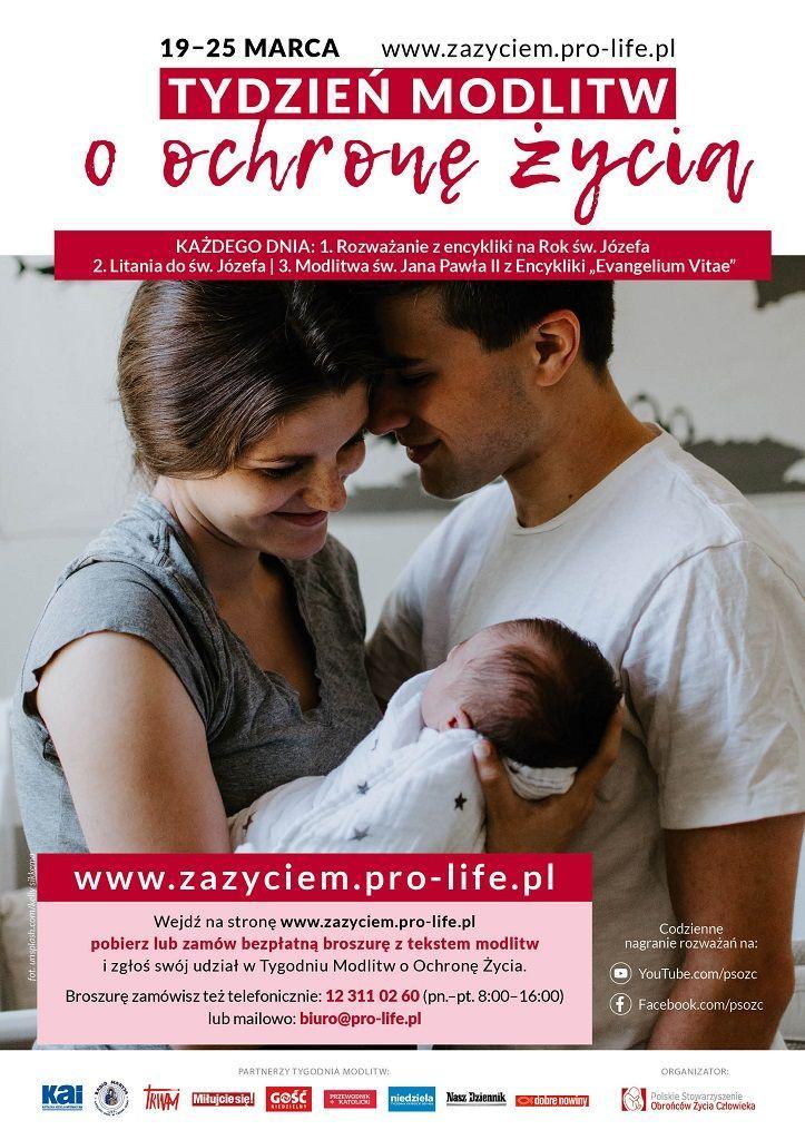 Tydzień Modlitw o Ochronę Życia (informacja)